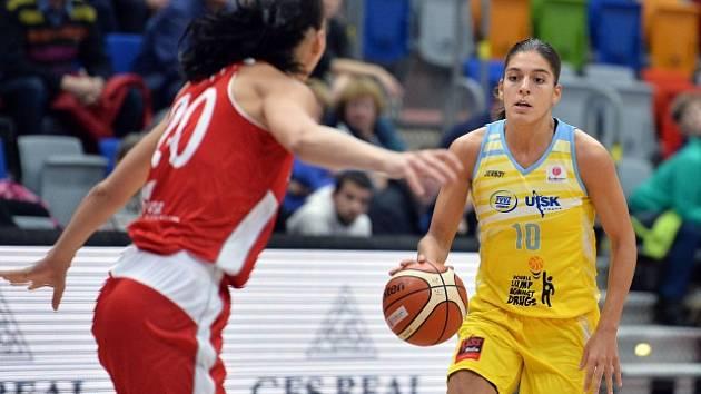 USK - Kayserispor: Marta Xargayová (vpravo)