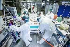 Covid ARO nemocnice v Náchodě