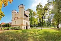 Park Vlašimská brána.