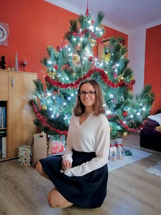 Jsem moc šťastná, že jsem mohla prožívat svátky vánoční v kruhu nejbližších, není nic krásnějšího než trávit čas se svou rodinou.