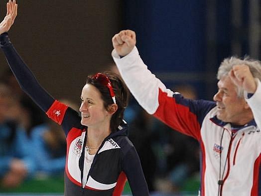 Duo Sáblíková - Novák si právě splnilo zlatý olympijský sen.