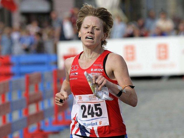 Třináct vteřin dělilo českou reprezentantku Danu Brožkovou od medaile ve sprintu na MS v orientačním běhu.