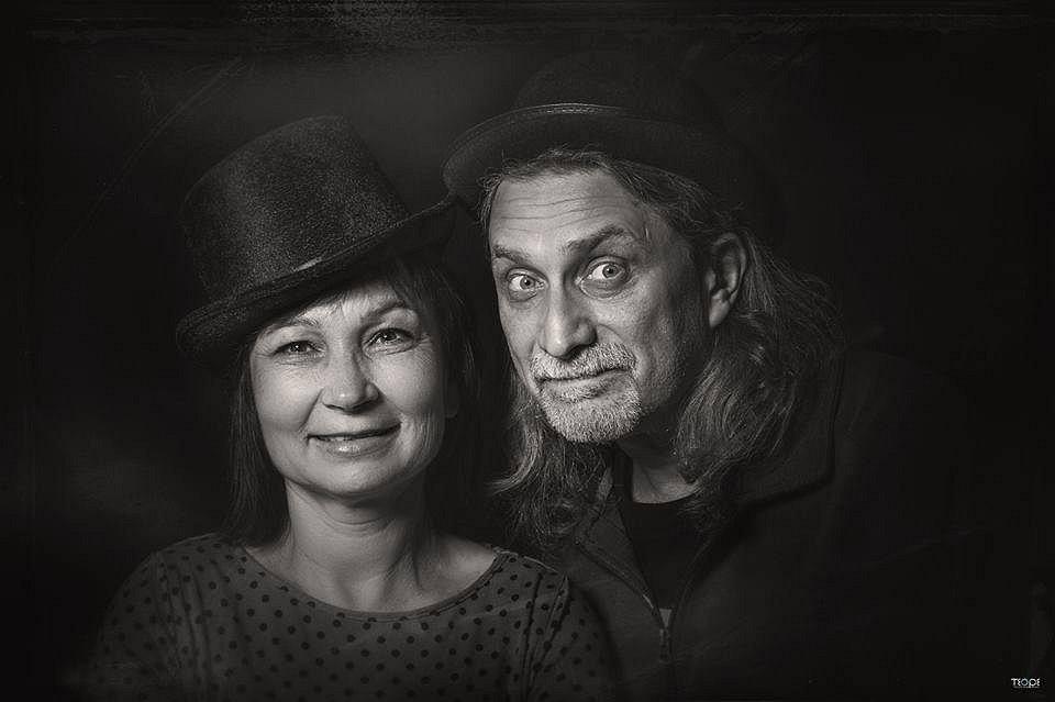 LUBOŠ BERÁNEK s manželkou Jířou.