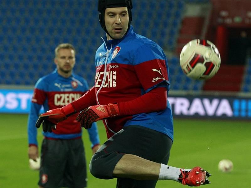 Příprava na zápas: Petr Čech