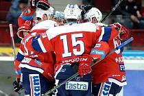 Pardubice vyhrály na ledě Karlových Varů