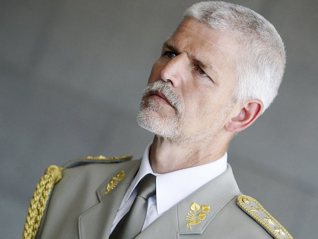 Náčelník generálního štábu armády České republiky Petr Pavel.