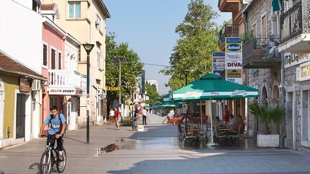 Hlavní město Černé Hory Podgorica