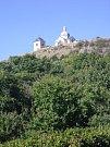 Číslo 11: Pohled na sv.Kopeček v Mikulově z vinohradu