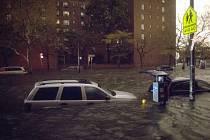 Bouře Sandy zasáhla New York