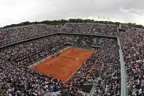 Rolland Garros v Paříži.