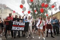 Demonstrace v Minsku