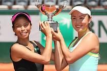 Poslední den French Open: Hsieh Su-Wei z Tchaj-wanu a Pcheng Šuaj