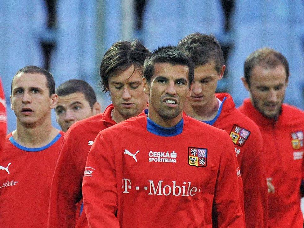 Čeští fotbalisté hrají se Slováky o naději. Nenechají si proklouznout postup na světový šampionát 2010?