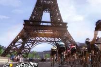 Počítačová hra Pro Cycling Manager 2015.