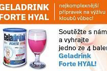 Geladrink Forte HYAL – nejkomplexnější přípravek na výživu kloubů vůbec