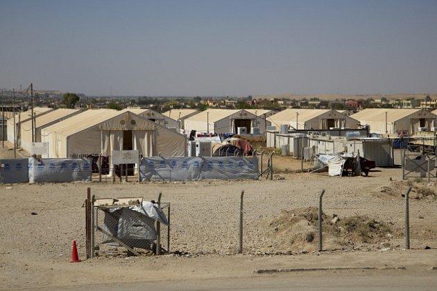 Tábor v Iráku