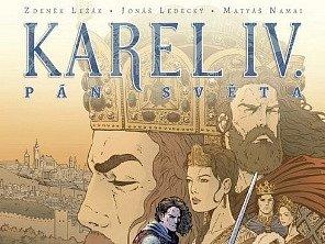 Karel IV. v komiksu