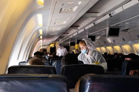 Létání v době koronaviru - Ilustrační foto
