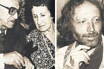Z Kotykových oblíbených. Zleva: Josef Hiršal s Bohumilou Grögerovou, Michal Ajvaz.