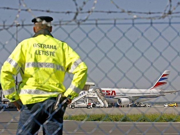 Letiště Ruzyně. Ilustrační foto