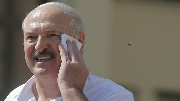 Běloruský prezident Alexandr Lukašenko (na snímku z 16. srpna 2020)