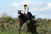Leighton Aspell v sedle Many Clouds