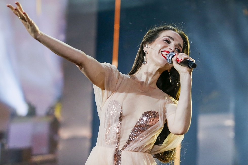 Takto Natalia Oreiro zazářila na silvestrovském koncertě v polském městě Zakopane.