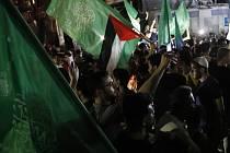Oslavy příměří v Gaze
