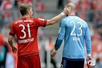 Pepe Reina nedohrál zápas Bayernu s Augsburgem
