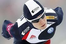 Martina Sáblíková vyhrála na mistrovství Evropy ve víceboji závod na 3000 metrů.