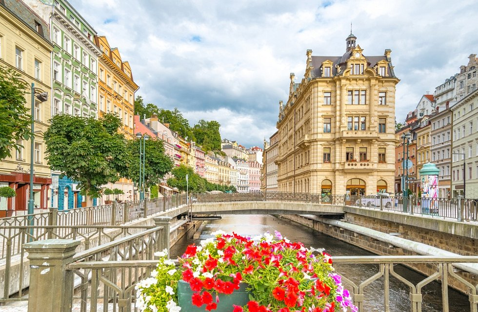 Karlovy Vary, centrum města