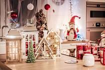 Vánoční dekorace. Ilustrační snímek