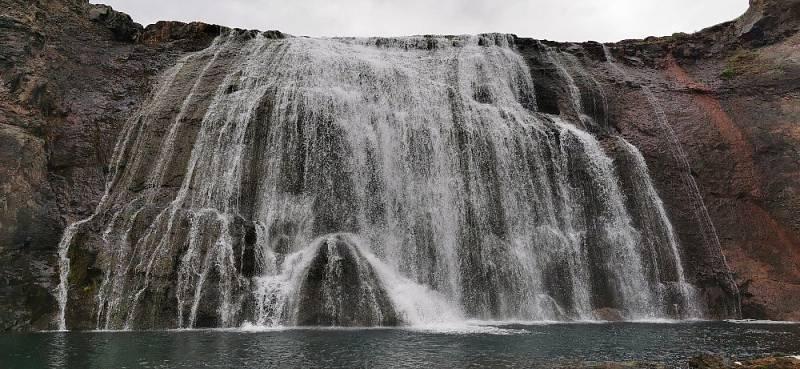 Vlasový vodopád Bórufoss