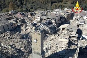 Zemětřesení v Itálii, 30. 10. 2016