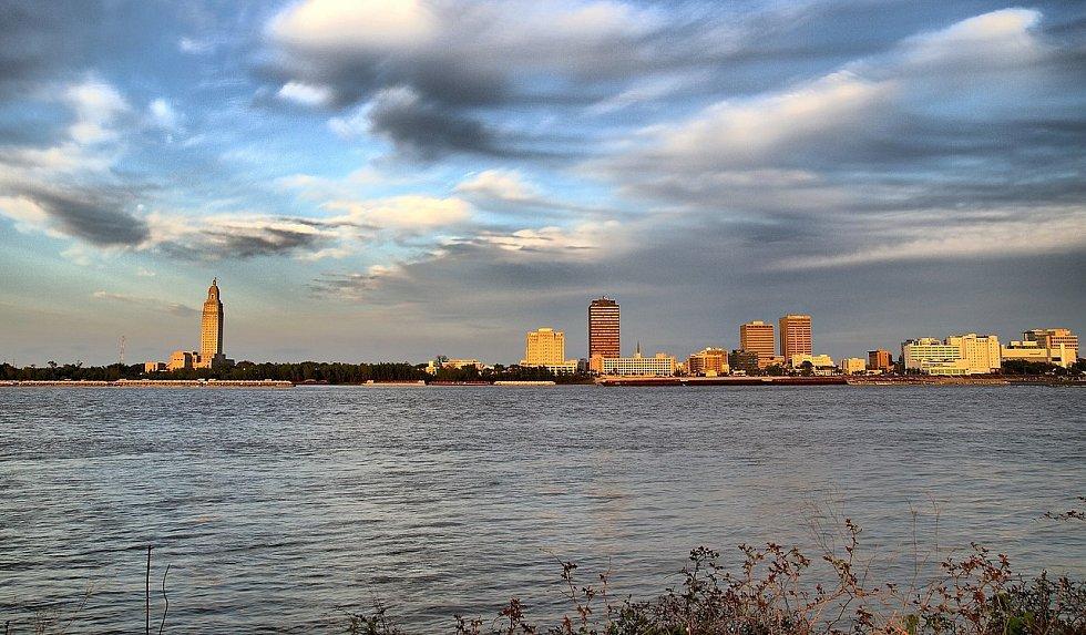 Město Baton Rouge, v němž byl Roderick Ferrell dopaden