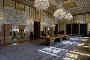 Interiér rezidence primátora hlavního města Prahy