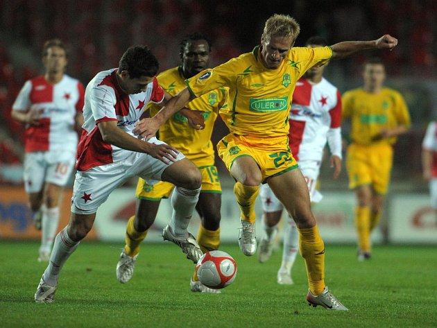 Slavia překvapivě remizovala s rumunskou Vasluí 0:0.