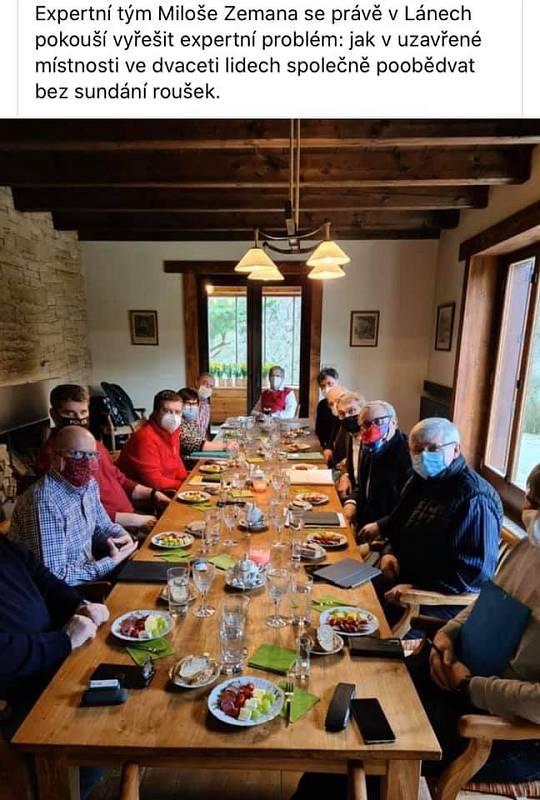 Poslední večeře krizového štábu