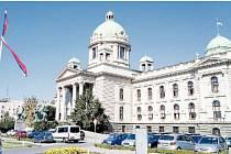 Budova jugoslávského, dnes srbského parlamentu je jednou z mála opečovávaných dominant Bělehradu