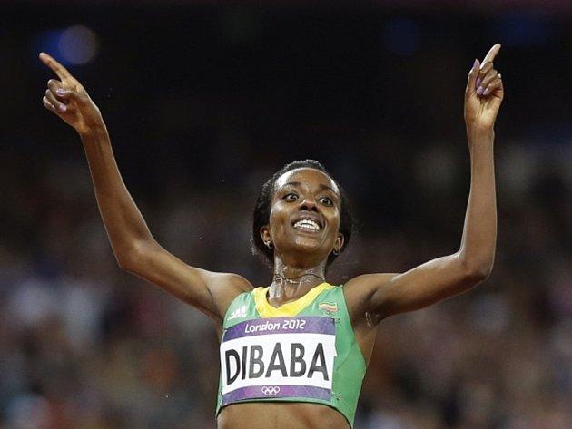 Trojnásobná olympijská vítězka v běhu na 10.000 metrů Tiruneš Dibabaová se představí na Zlaté tretře Ostrava.