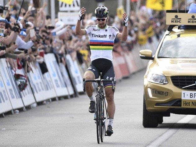 Peter Sagan letos kraloval i stému ročníku klasiky Kolem Flander.
