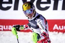 Marcel Hirscher vybojoval na MS díky parádnímu slalomu zlato v kombinaci.