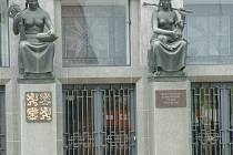 Vchod do budovy ministerstva zemědělství