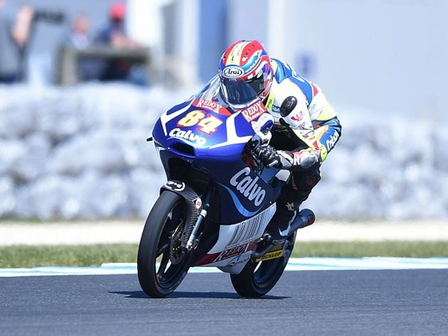 Jakub Kornfeil v GP Austrálie.