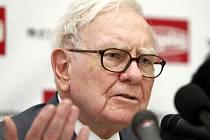 Americký miliardář Warren Buffett.