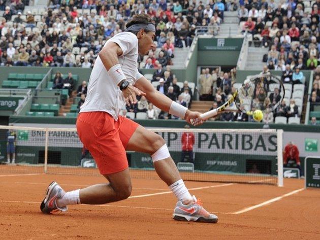 Rafael Nadal na Roland Garros.