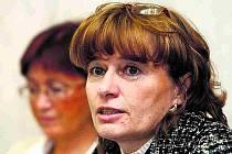 Předsedkyně Odborového svazu zdravotnictví a sociální péče Dagmar Žitníková