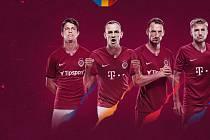 Nové dresy AC Sparta Praha