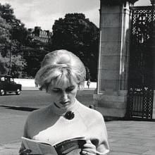 Eva Mašková v Londýně v roce 1967