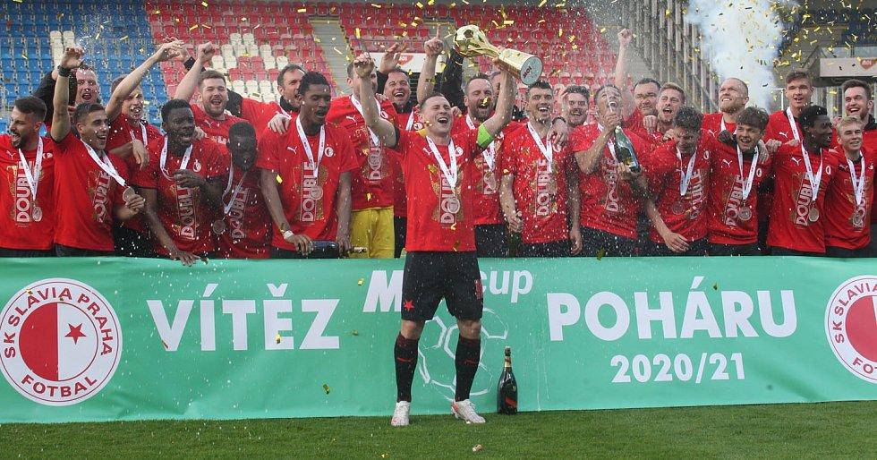 Finále poháru mezi Plzní a Slavií